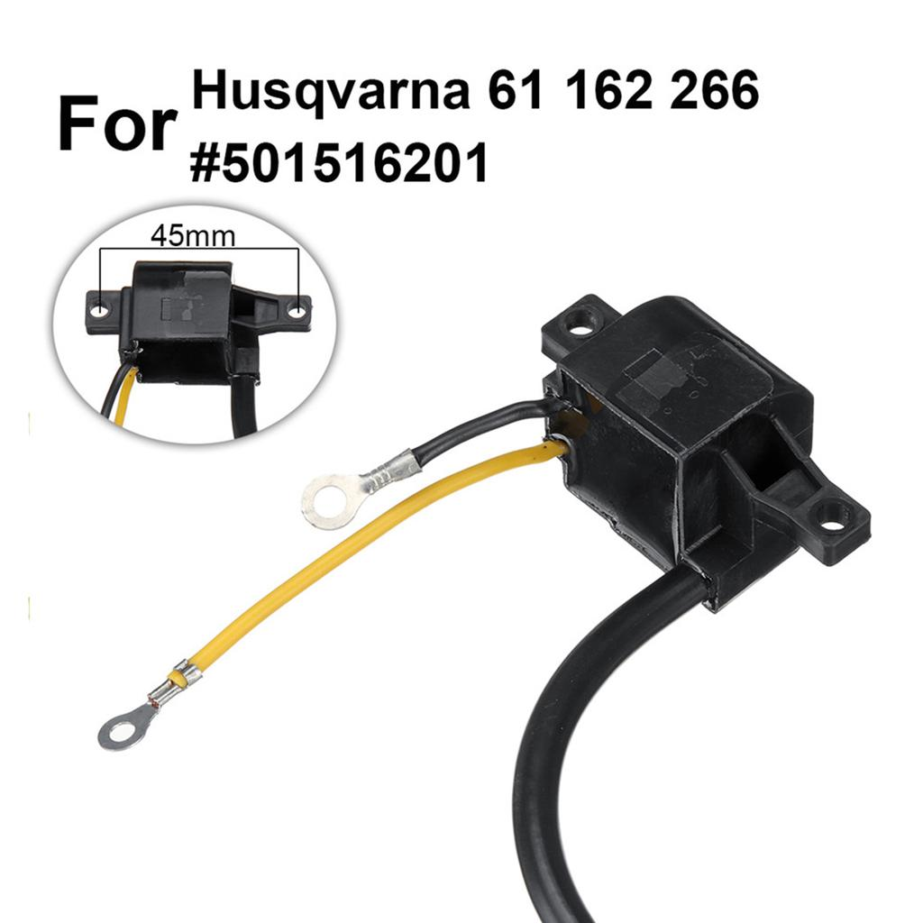 Ignition Coil Module For Husqvarna 61 66 162 266 Chainsaw 501516201 Quality Hot