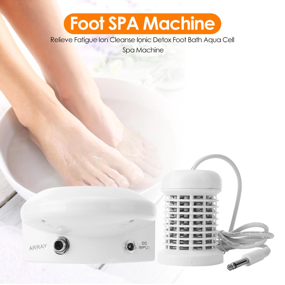 Relieve Fatigue Ion Cleanse Ionic Detox Foot Bath Aqua Cell Spa Machine Buy At A Low Prices On Joom E Commerce Platform