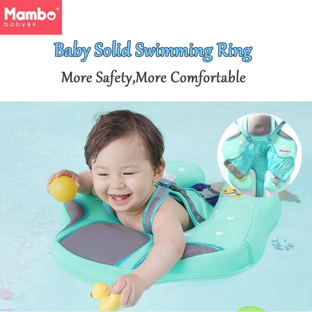 Solid Pearl Foam Baby Kids Swimming Ring Float Trainer Safety Aid Pool Water Toy