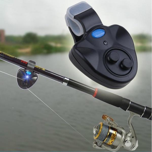 Рыбалка звук-свет сигнализации устройства оповещения колокол клип на удочку фото