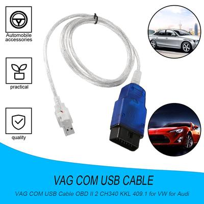 OUTAD VAG-COM VCDS Cable USB Scanner Tool OBD 2 VAG 409 1