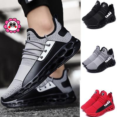 Men Women Mixed Color Sports Leisure Shoes Increased Cushion