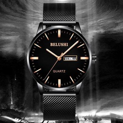 4db4bcc6162 Black Silicone analógico de quartzo pulso relógio FashionablePocket ...
