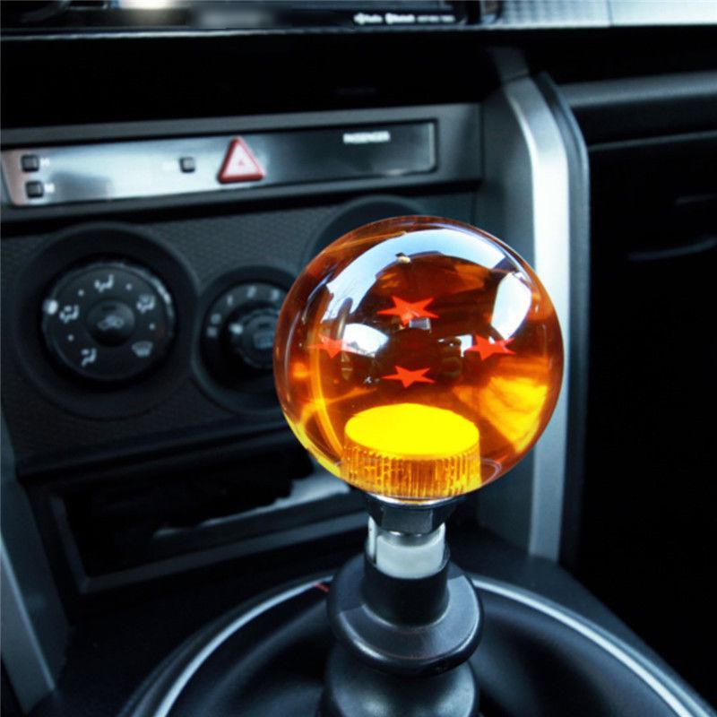 Dragon Ball Z Star Color : 6 Pomo de cambio de palanca manual con adaptadores para la mayor/ía de los autos CBFYKU