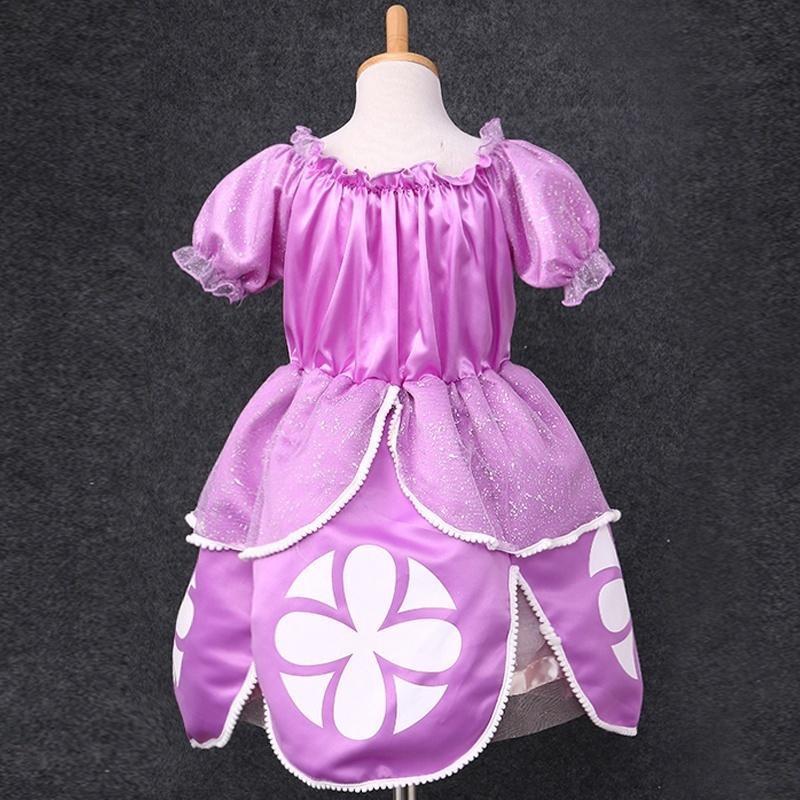Princesa Sofia Costume Baby Girls flor fiesta de disfraces de cuento ...