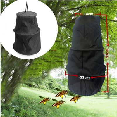 Black 3 Layers Beekeeping Tools Bee Cage To Catch With Bees Wild Recruit 410mm