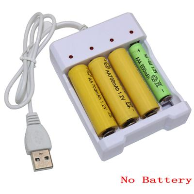 Universal Usb 4 Slots Output Battery Charger Battery Quick