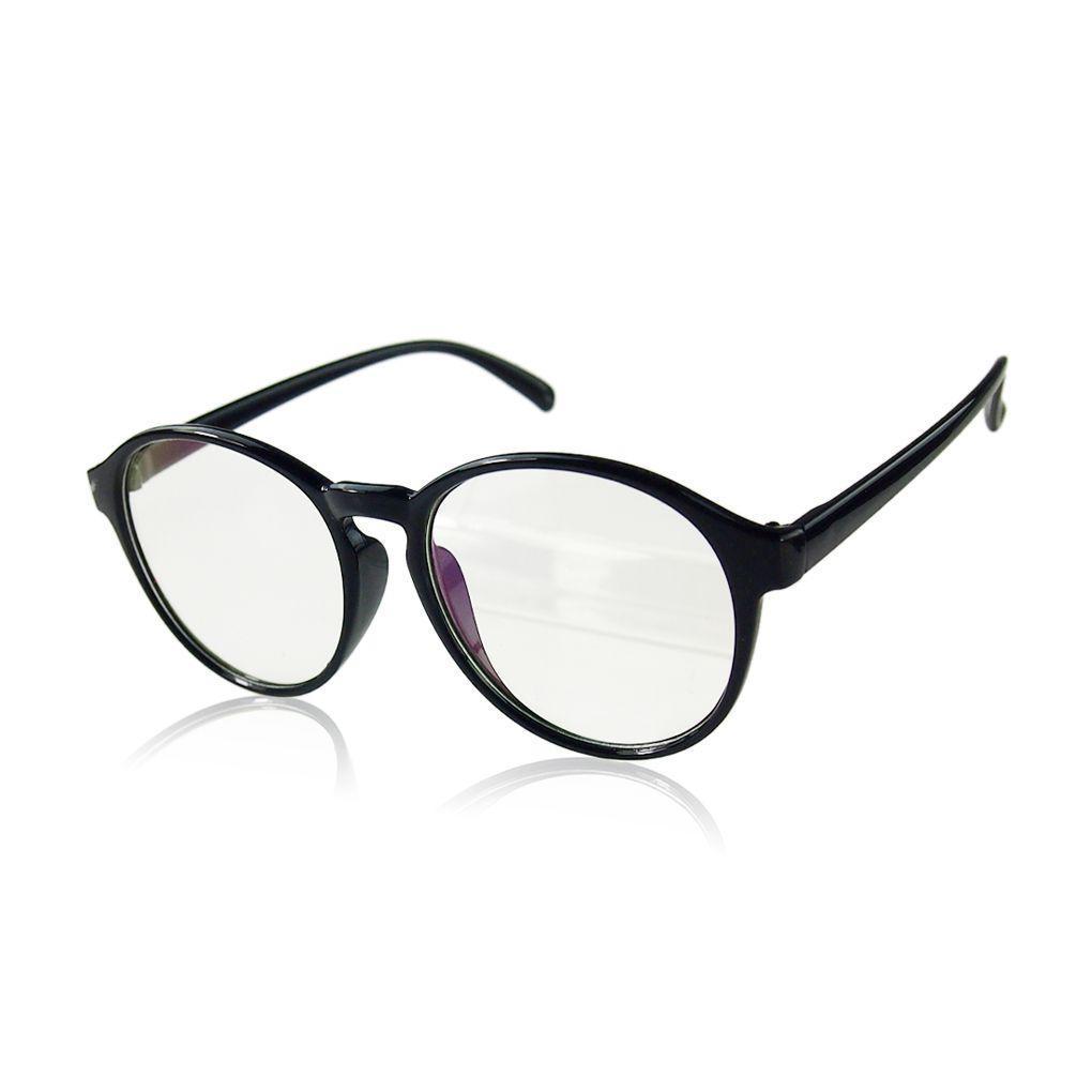 Große Runde Brillen Rahmen optische Sonnenbrille – günstig im ...