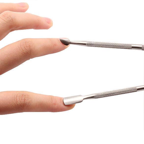 Herramientas belleza pedicura cuchara cutícula uñas manicura regalo ...