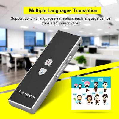 T8 Handheld Pocket Smart Voice Translator Real Time Speech