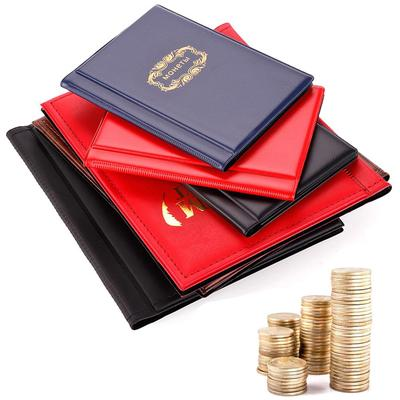New 120 Coins Collection Holders Storage Money Penny Pocket Album