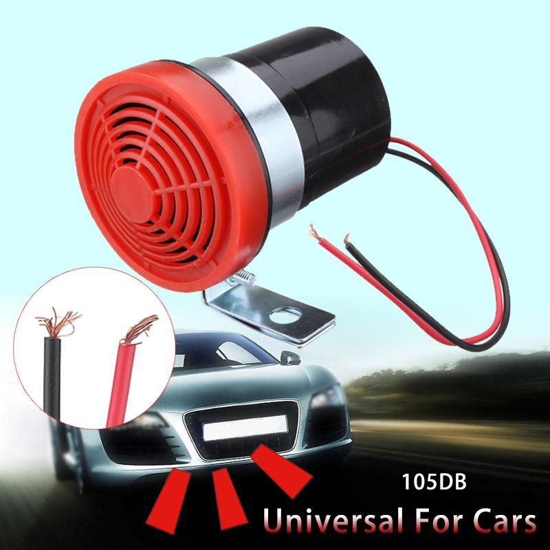 12V 24V Reverse Beeper Horn Vehicle Warning Back Up Car Alarm Speaker Buzzer