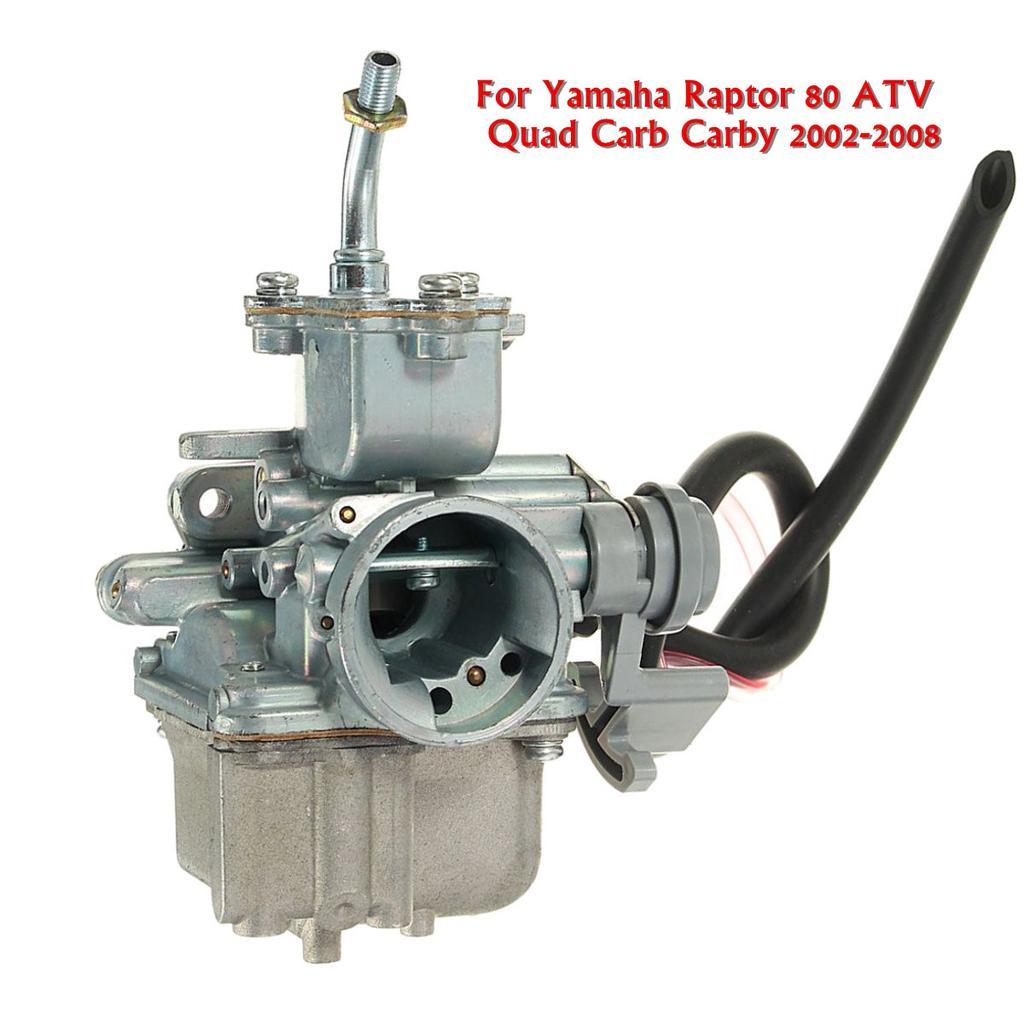 Carburetor with Filter for Yamaha Raptor 80 ATV Quad Carby 2002-2008 New Carb