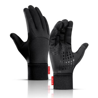 Men Women Winter Sports Windproof Warm Gloves Touch Screen Thermal Lined Mittens