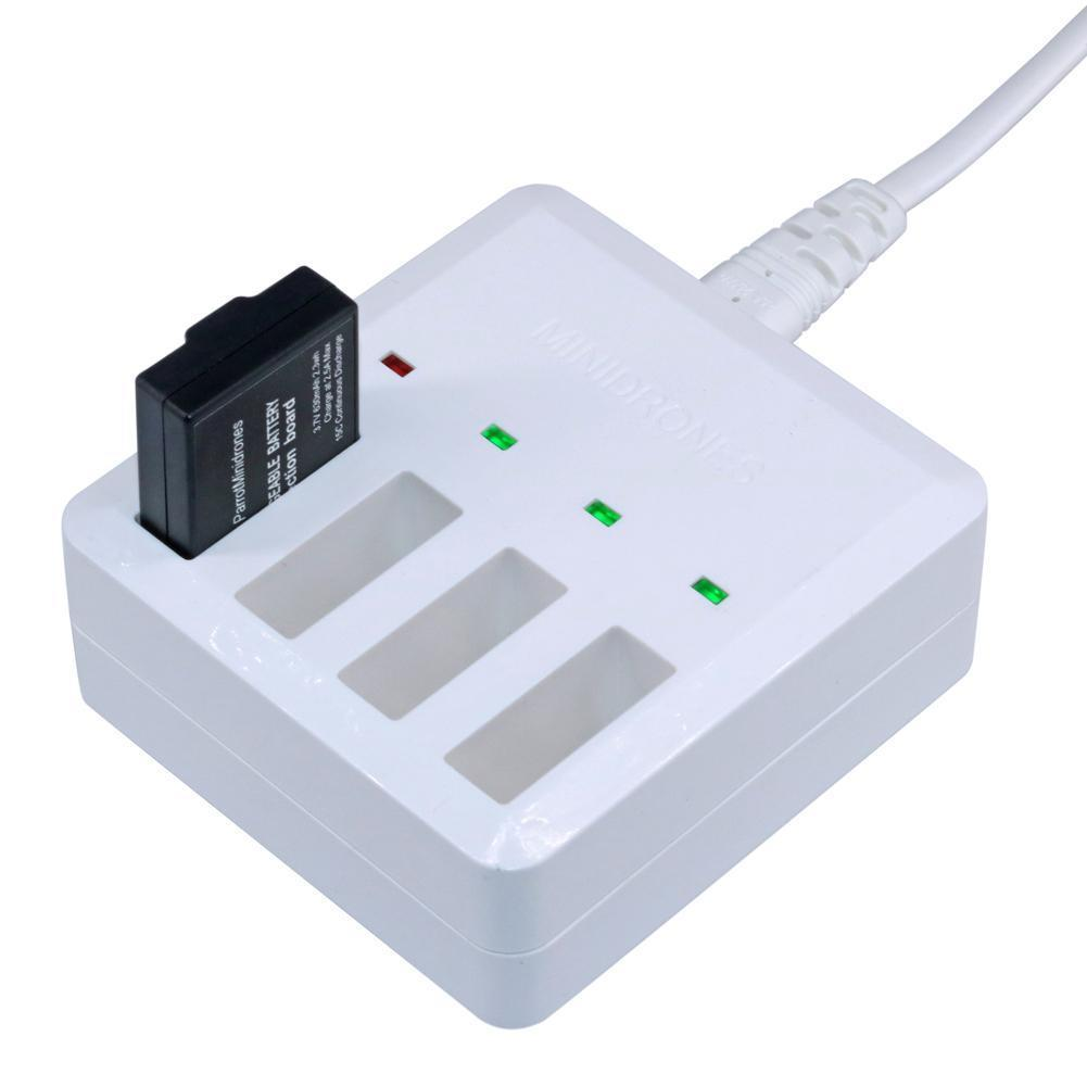 Multi Battery Fast Charger For All Series Parrot Minidrones Buy At A Hydrofoil Drone Orak 1 Of 7