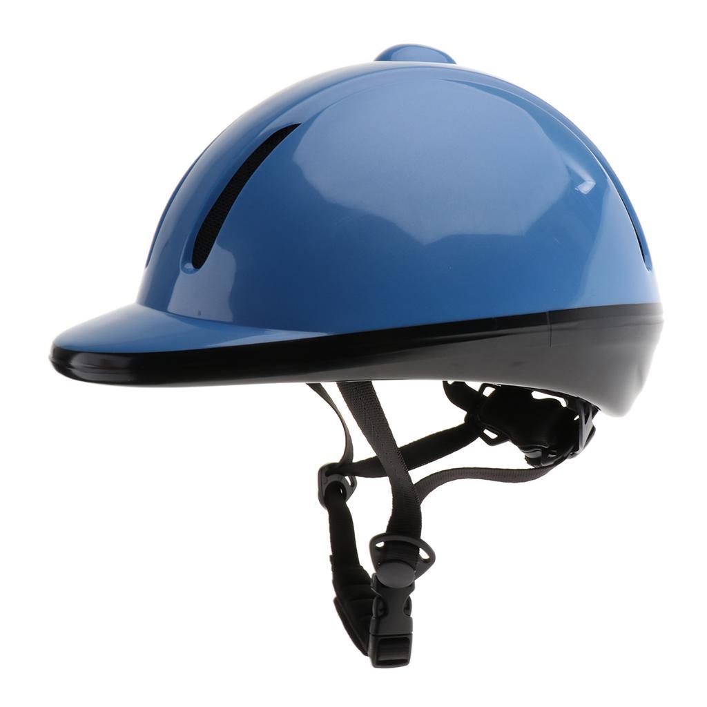 Adjustable Adults Safety Sport Skull Cap Horse Riding Equestrian Helmets Hat
