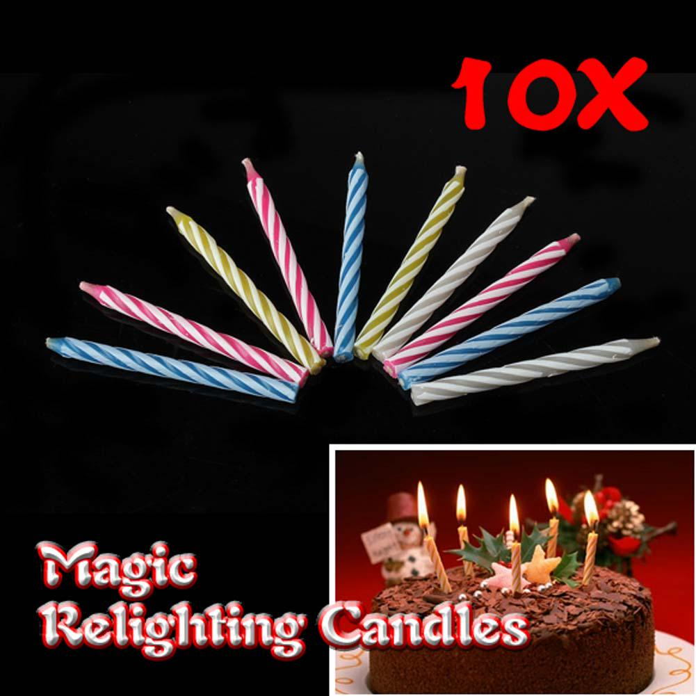 Eternal Birthday Blowing Candles Magic Tricky Toy Gift