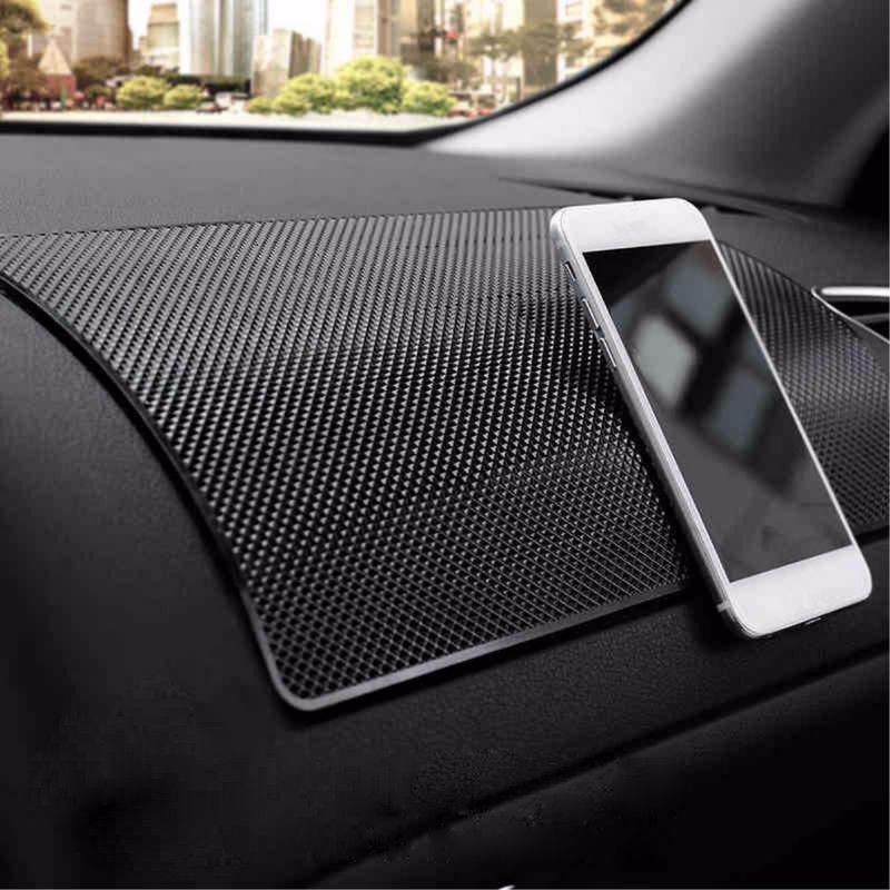 Автомобиль Dashboard Sticky Pad скольжения противоскользящим сотовый телефон черный мат держатель фото