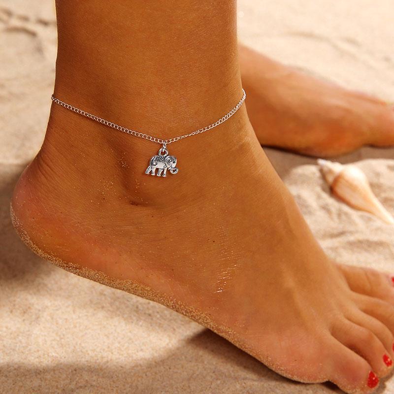 Women Star Shape Beach Anklet Foot Chain Jewelry Gift LA