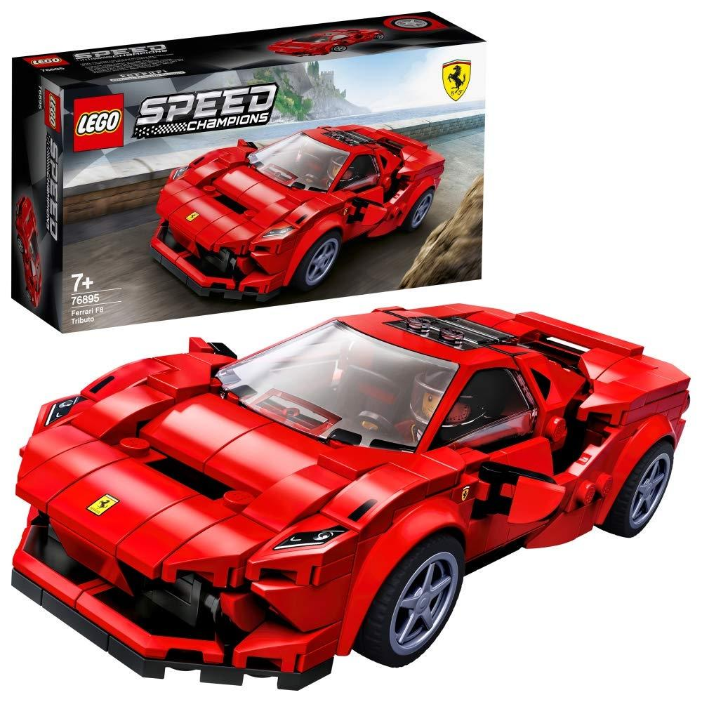 Lego Speed Champions Ferrari F8 Tributo Toy Car 7 Years And Over 275 Pieces 76895 Buy At A Low Prices On Joom E Commerce Platform