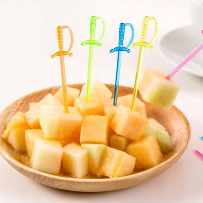 Cocktail Sticks Party Drink Stirrer Picks Fruit Decor Bar Cake Wedding Stick S