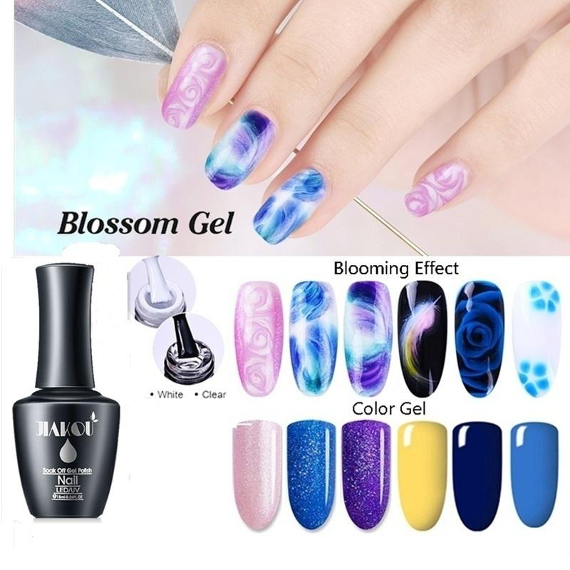 Beauty Blooming Effect Blossom Gel Lacquer Gel Polish Professional Soak Off Uv Led Long Lasting Nail Buy At A Low Prices On Joom E Commerce Platform