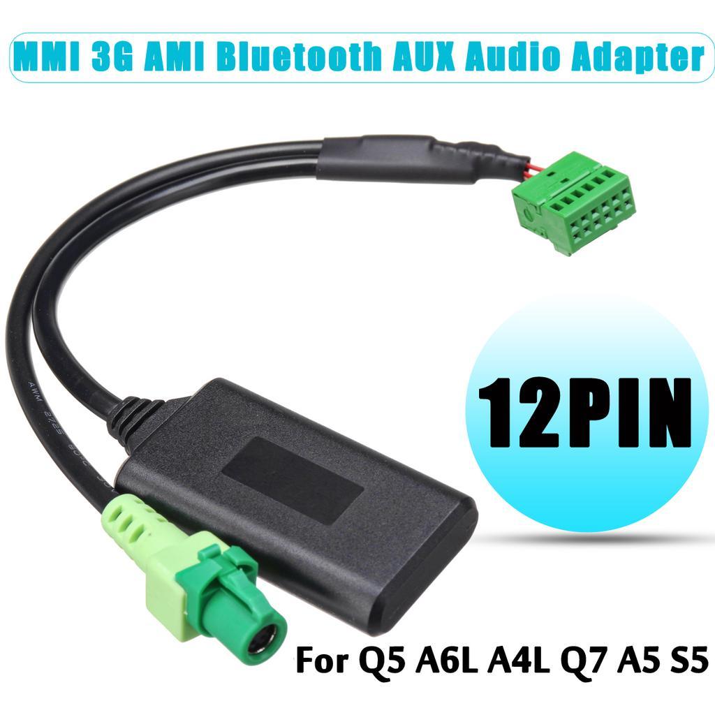 Audi Q5 A6L A4L Q7 A5 S5 with MMI 3G Music interface AMI USB interface aux cabl