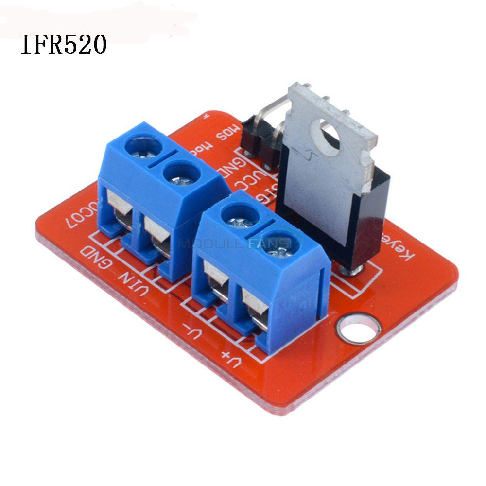3 5pcs New Raspberry Pi Electronics Irf520 Mosfet Driver Arduino Camping Led Light With Dimmer 1 Of 10