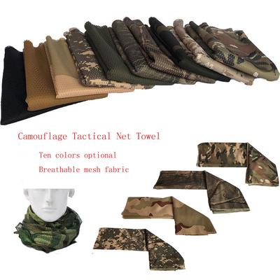 Tactical Ops// Military// Hunting Woodland Camouflage Mesh Net Headscarf New!!!