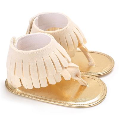 891238632171 Toddler Girl Crib Shoes Flower Soft Sole Anti-slip Baby Sneakers Sandals