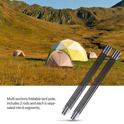 Tent Poles Holder Bar Rod Peg Container Trekking Pole Storage Bag Outdoors