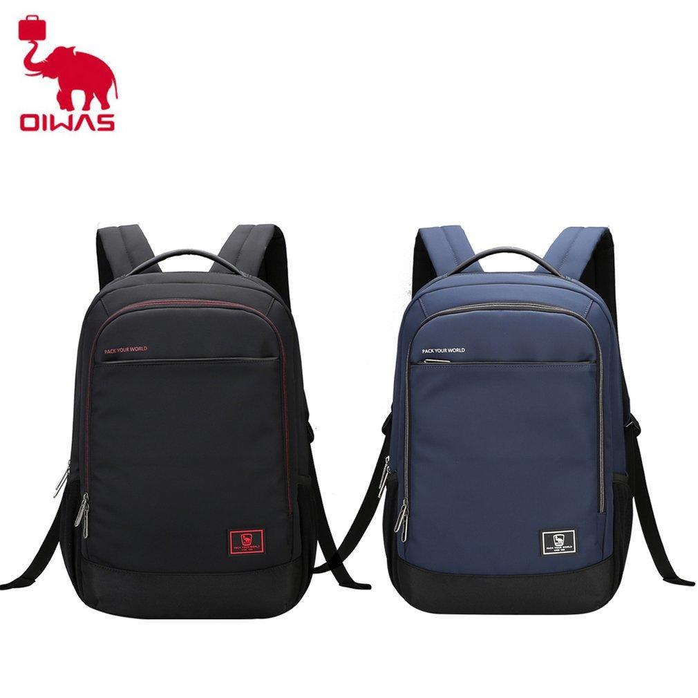 a07061a642ad OIWAS ноутбук бизнес рюкзак легкий водонепроницаемый большой емкости ...