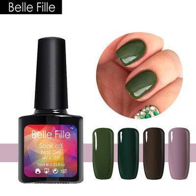 Belle Fille Gel Nail Polish Summer Green Series Uv Gel Dry