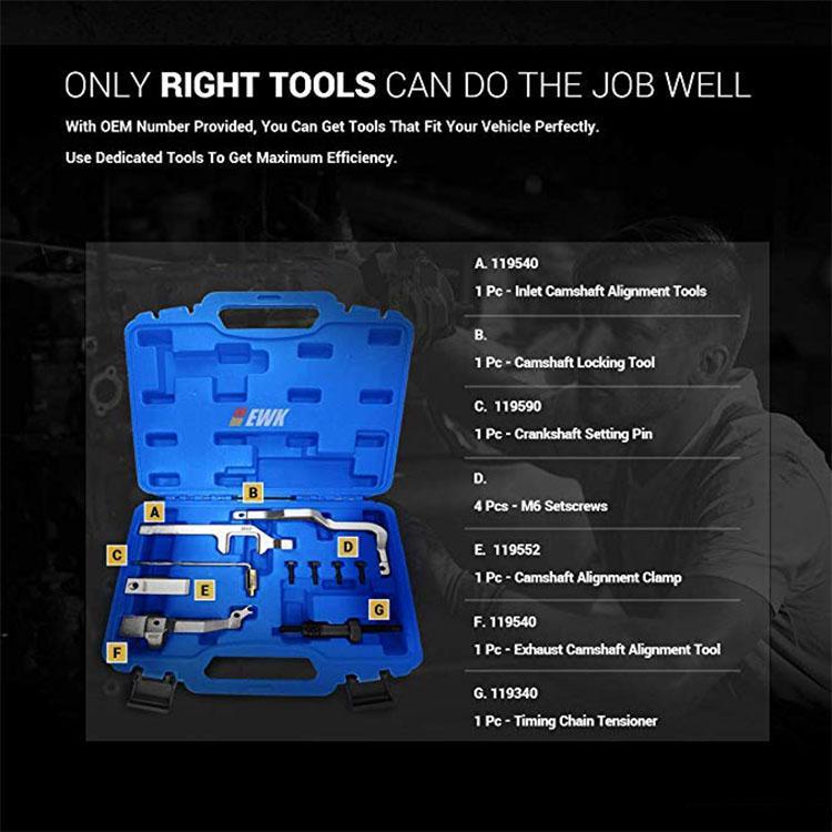 Engine Camshaft Alignment Timing Tool Kit R55 for Mini Cooper N12 N14