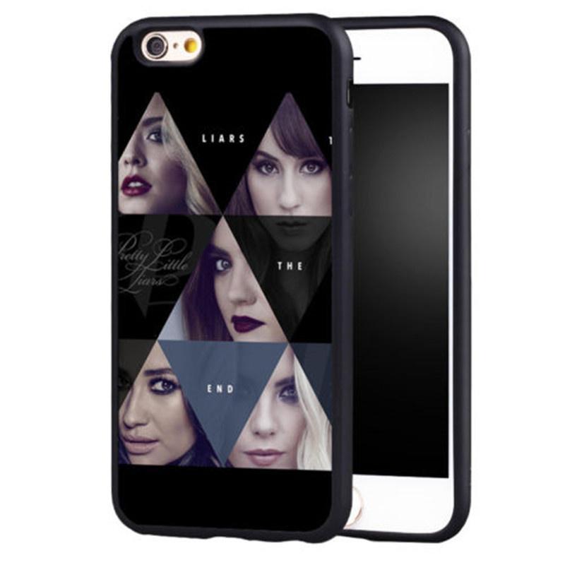 PLL Pretty Little Liars Original Collage iPhone 4 5 6 7s plus 8 X case Samsung Galaxy s6 s7 s8 cover