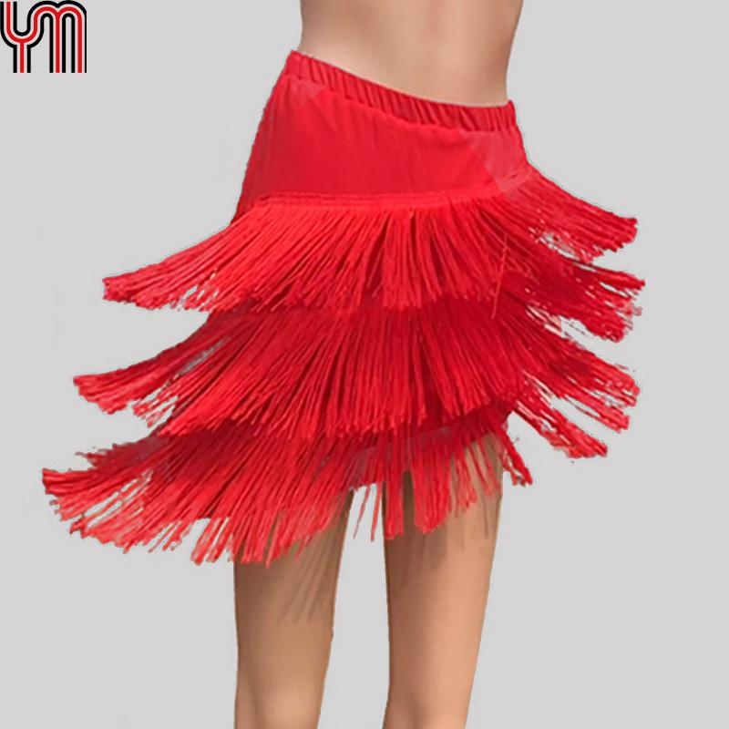 Skate Dress Skirt Latin Tango Scarf Salsa Dancewear Ballroom Competition Samba