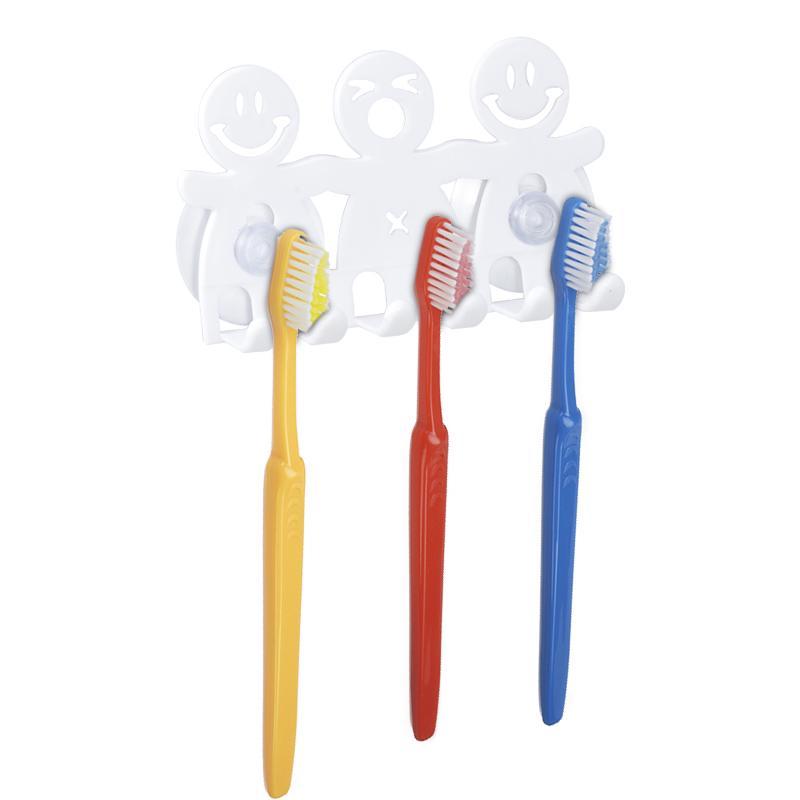 Brosse à Dents Rasoir Support Ventouse Stand Support Mural Grip Plastique Support Salle De Bain