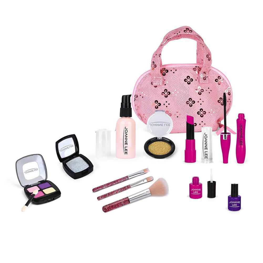 Kids Travelling Pretend Play Make up Kit Tragetasche Spielzeug Set Beauty Set