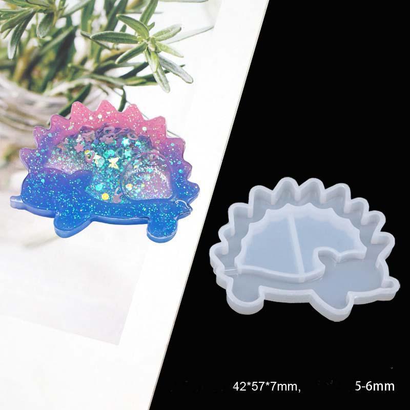 Key Chain Charms Mold Kawaii Strawberry Shaker Silicone Resin Shaker Epoxy-HOT