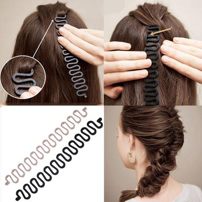 Hair Care & Styling Objective Pf Hair Braiding Tool Magic Hair Style Scrunchy For Hair Accessories For Women Fish Bone Headwear Fast Maker