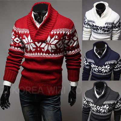 Mens Winter Long Sleeve Slim Fit Cardigan Zip Coat Jacket Sweater Muscle Jumper