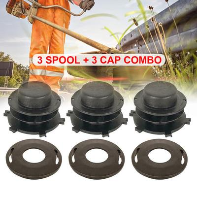 3x Head Cap Spool /& Cover for Stihl 25-2 FS 55 80 83 85 90 100 110 120 130