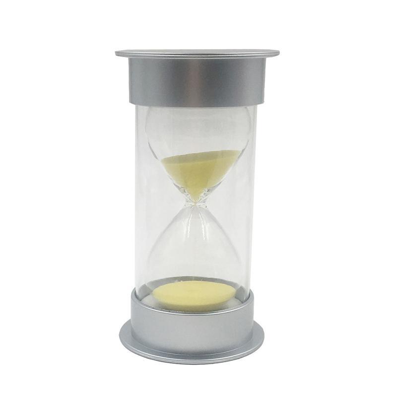 30//60 Minutes Sand Timer Hourglass Egg Sandglass Kitchen Timer Clock Home Decor