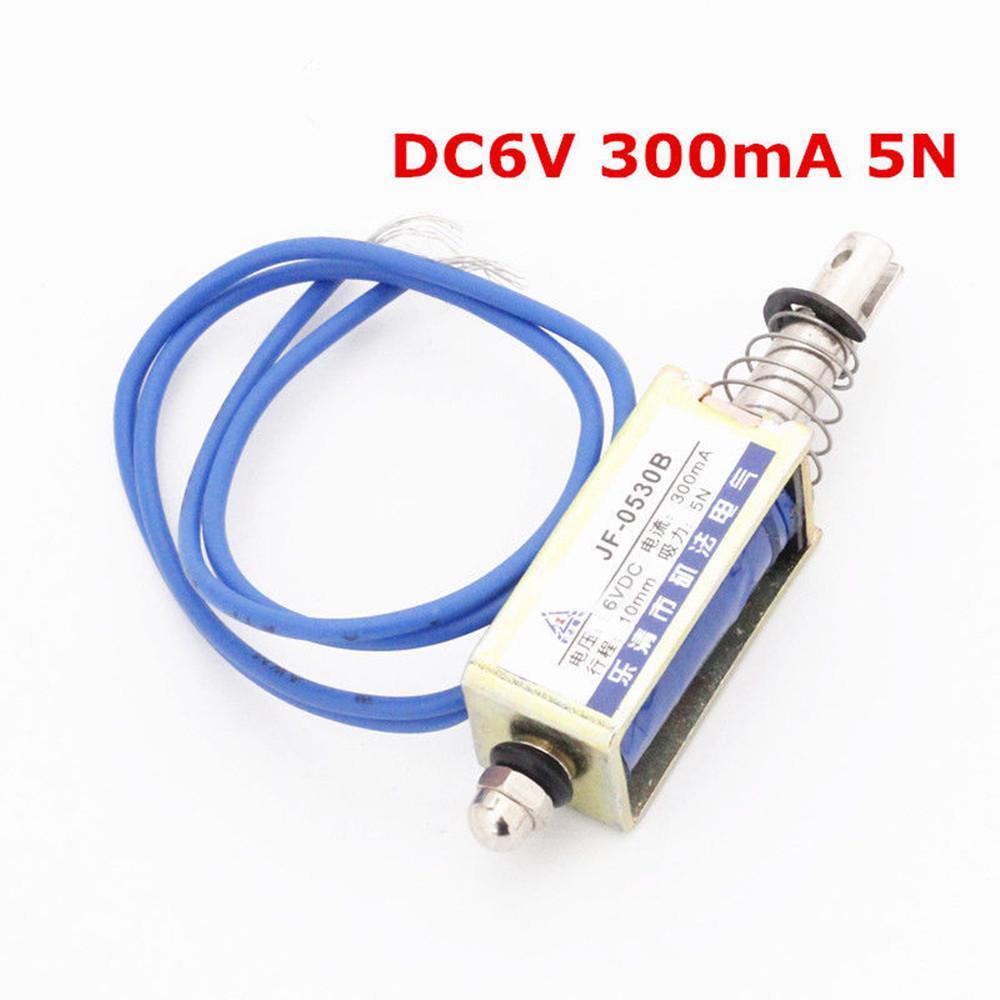 DC6V 12V 24V HCNE1-0520 DC Solenoid Electromagnet Frame Pull Type