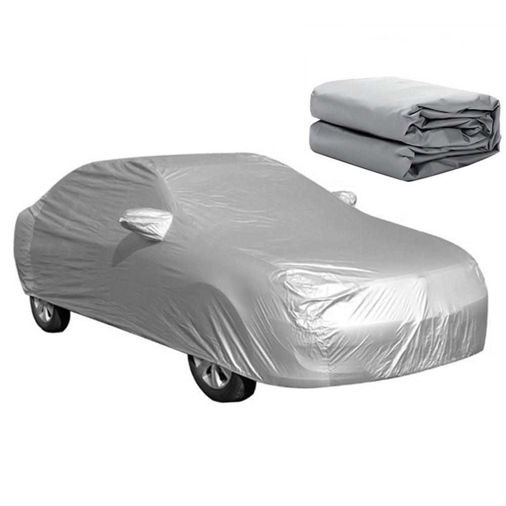 Universal car full cover snow ice dust sun uv shade foldable car outdoor coverJF