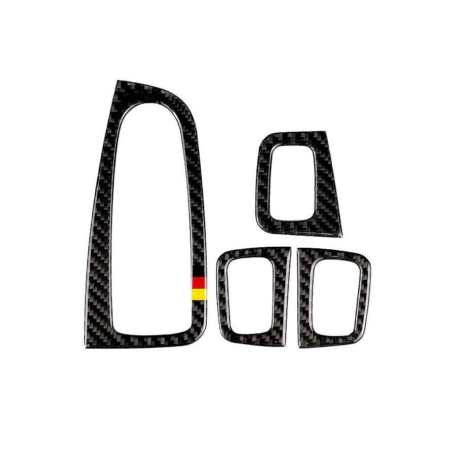Carbon Fiber Window Switch Armrest Trim For Mercedes Benz C Class W205 C200 GLC