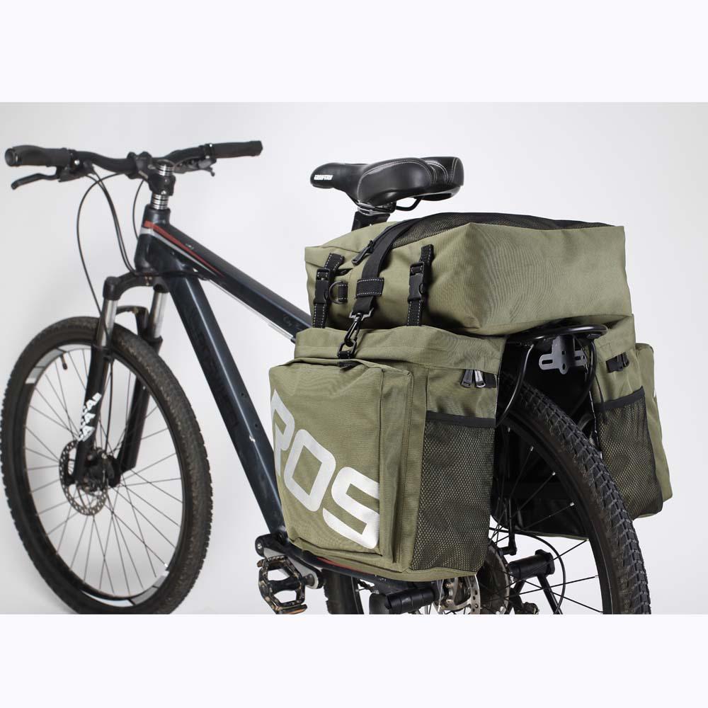 ROSWHEEL Waterproof Mountain Road MTB Cycling Saddle Bag Bicycle Bike Under Seat