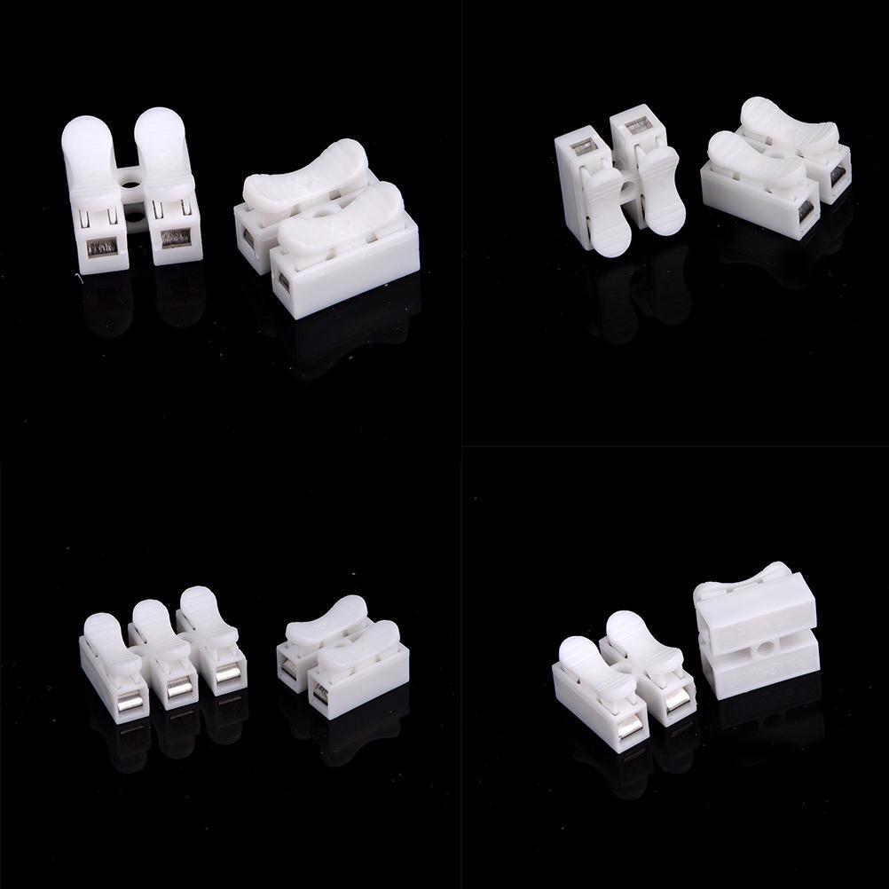 10Pcs Stromkabel Stecker schnell Spleiß Lock Drahtklemmen selbst ...