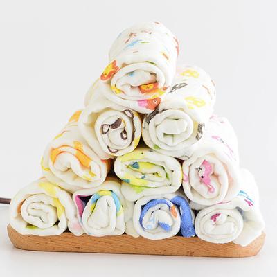6 Layer Baby Bibs Cotton Soft Saliva Handkerchief Toddler Feeding Burp Towel