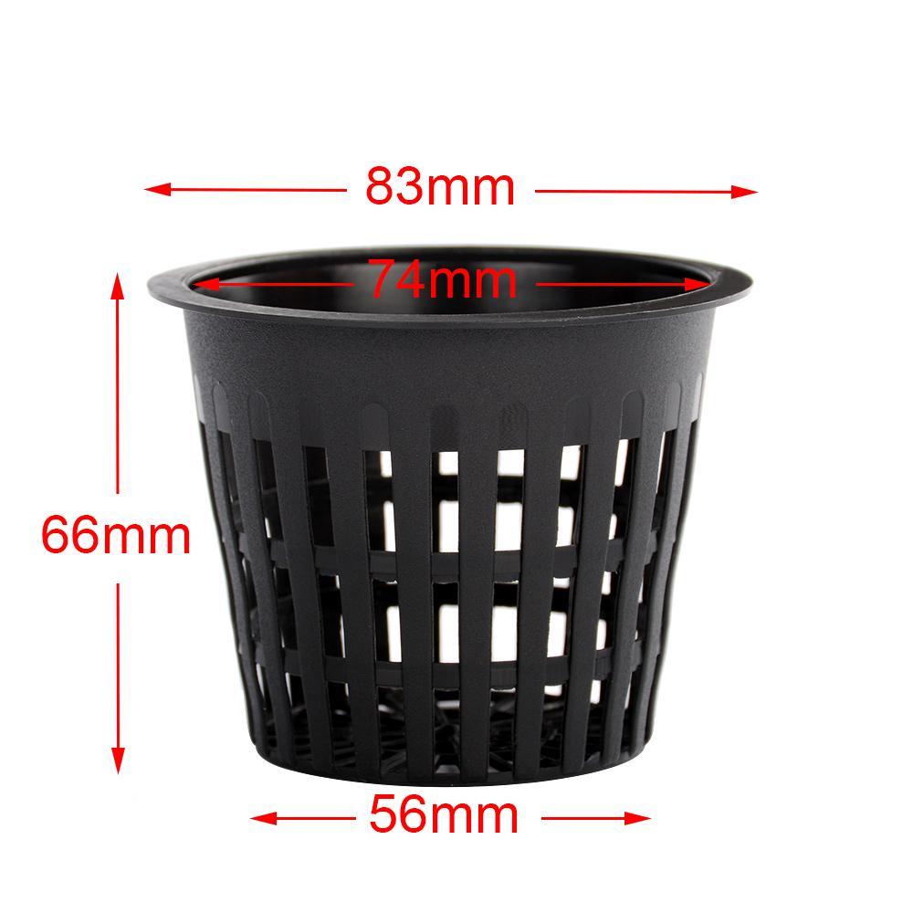 10x Heavy Duty Mesh Pot Net Cup Basket Hydroponic Aeroponic Plant Grow Clone Hot